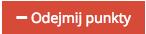"""Grafika przedstawiąca czerwony prostokątny przycisk z napisem """"Odejmij punkty"""", służący do odejmowania punktów z konta klienta w aplikacji Loyalty Starter służącej do obsługi programów lojalnościowych."""
