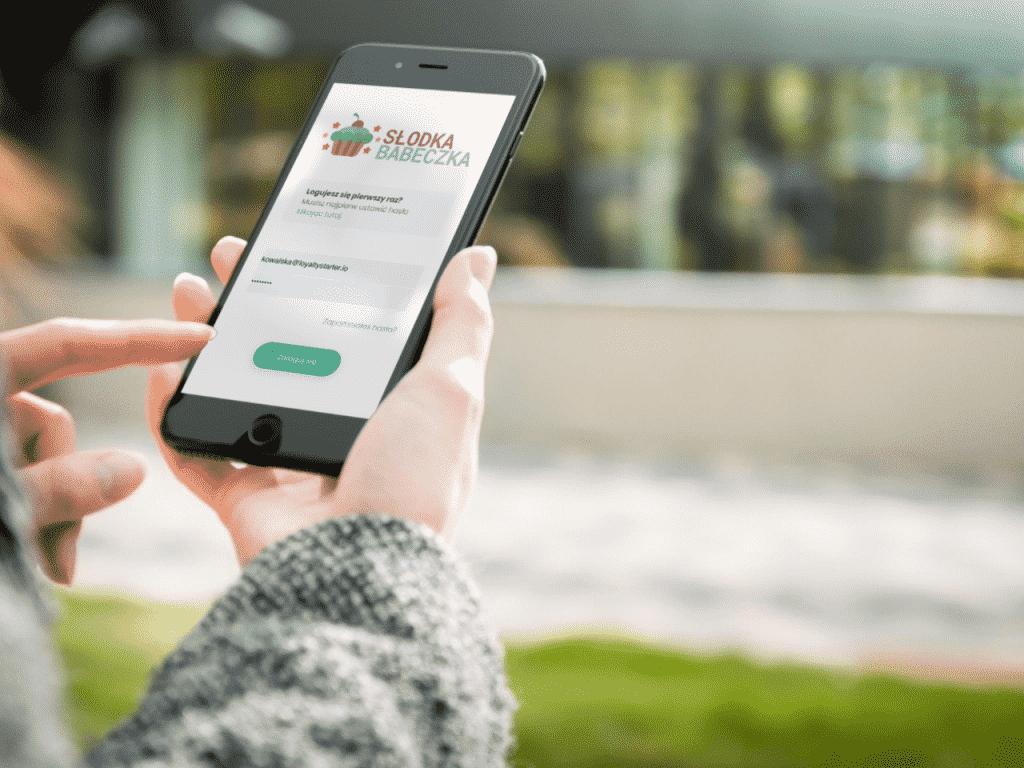 Zdjęcie przedstawiające aplikację mobilną Loyalty Starter.