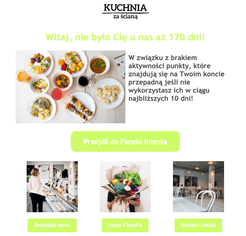 Program Moja Kuchnia - marketing automation